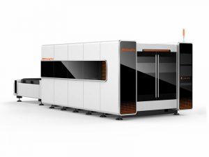 6090 enclosed fiber laser cutting machine