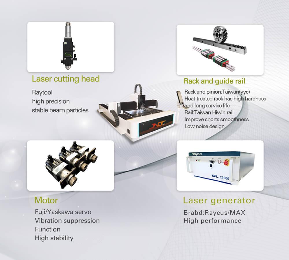 4kw fiber laser cutting machine 4kw laser cutter